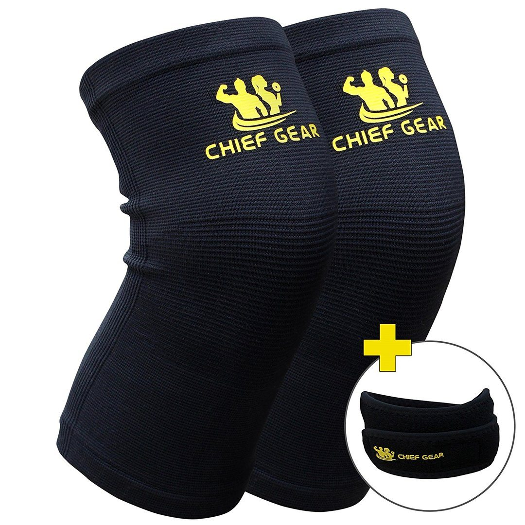 1. Chief Gear Knee Compression Sleeves