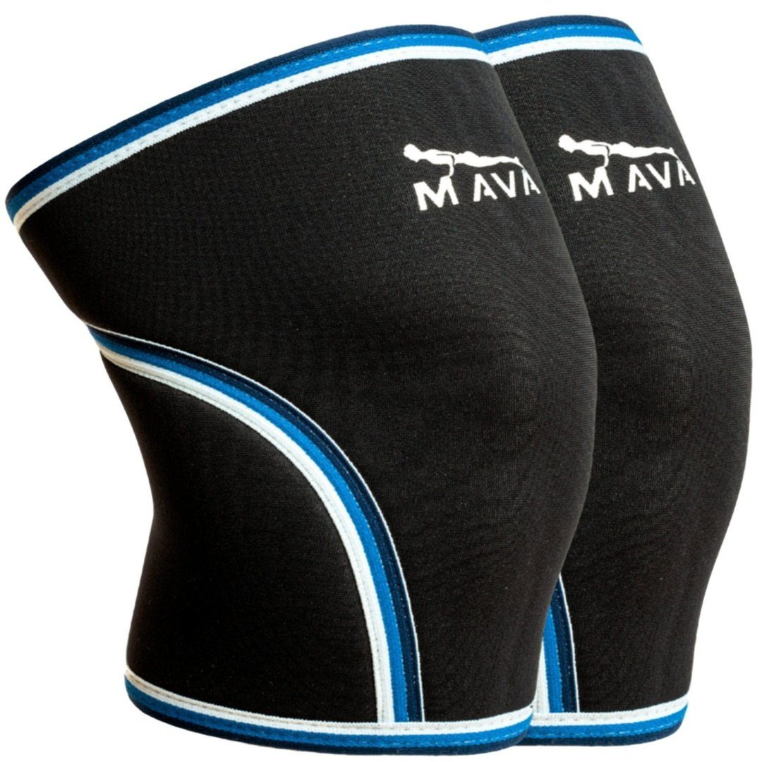 Mava Sports Pair Of Knee Compression Sleeves