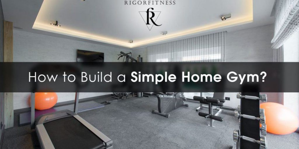 how to build a simple home gym featured image