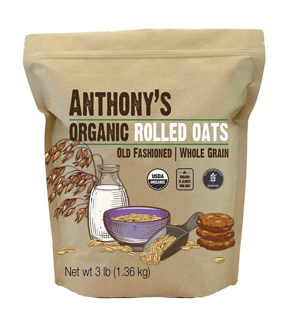Anthonys' Organic Gluten-free Rolled Oats