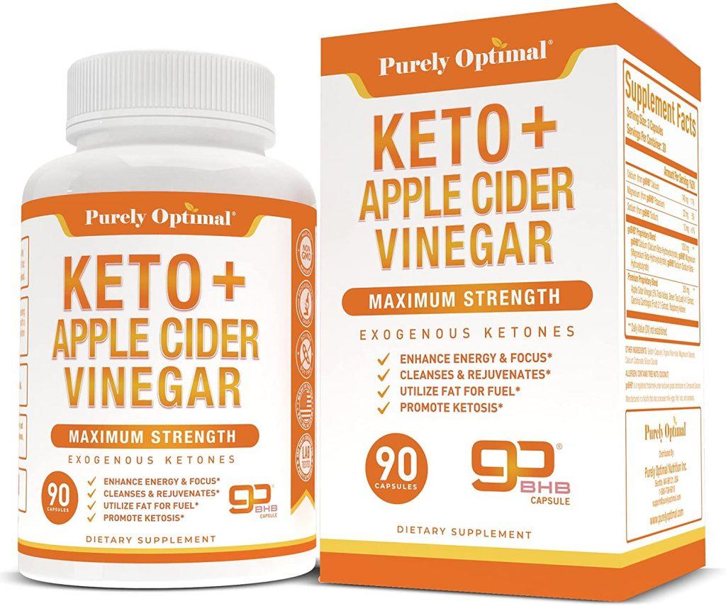 Keto Pills With Premium Apple-cider Vinegar Pills