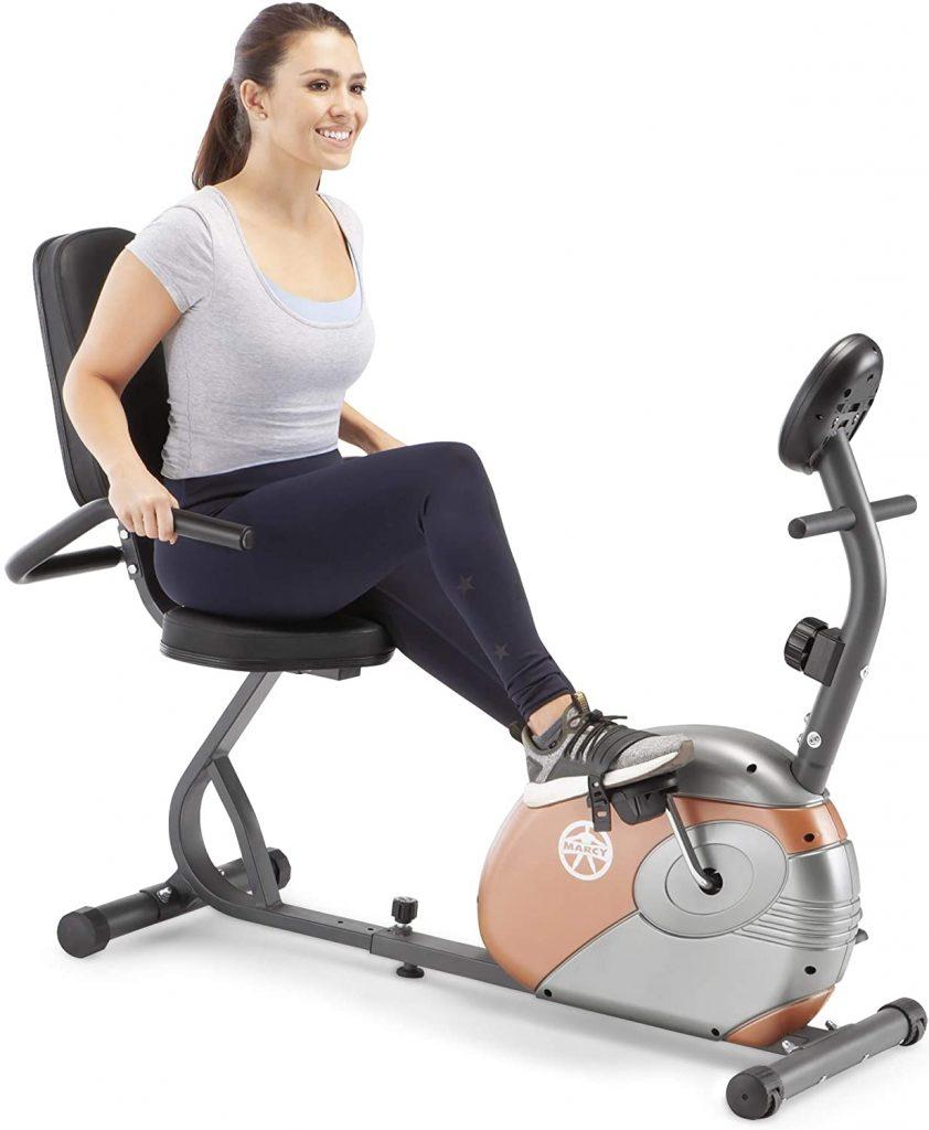Marcy Recumbent Cardio Exercise Bike