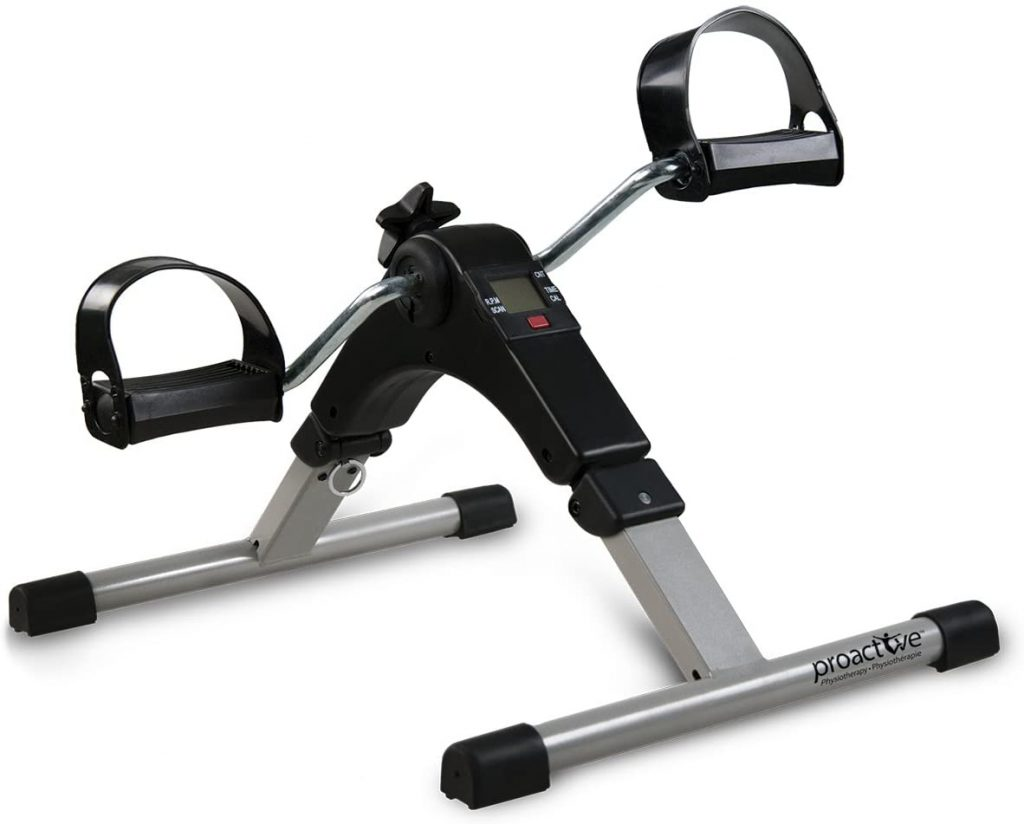 Proactive Portable Pedal Exerciser, For Cardiovascular Workout