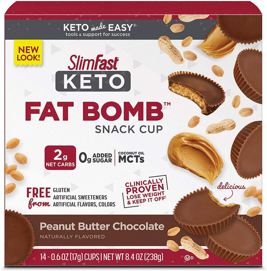 Slimfast Fat Bomb Keto Snacks