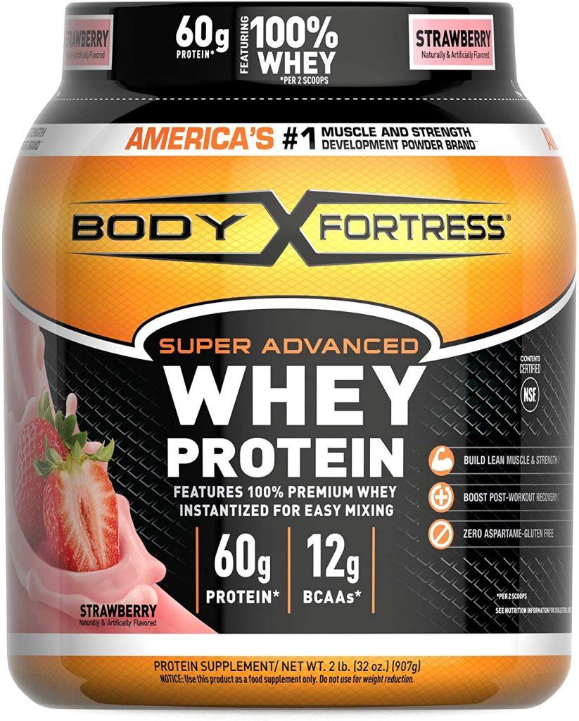 Body Fortress Whey Protein Super Advanced Powder