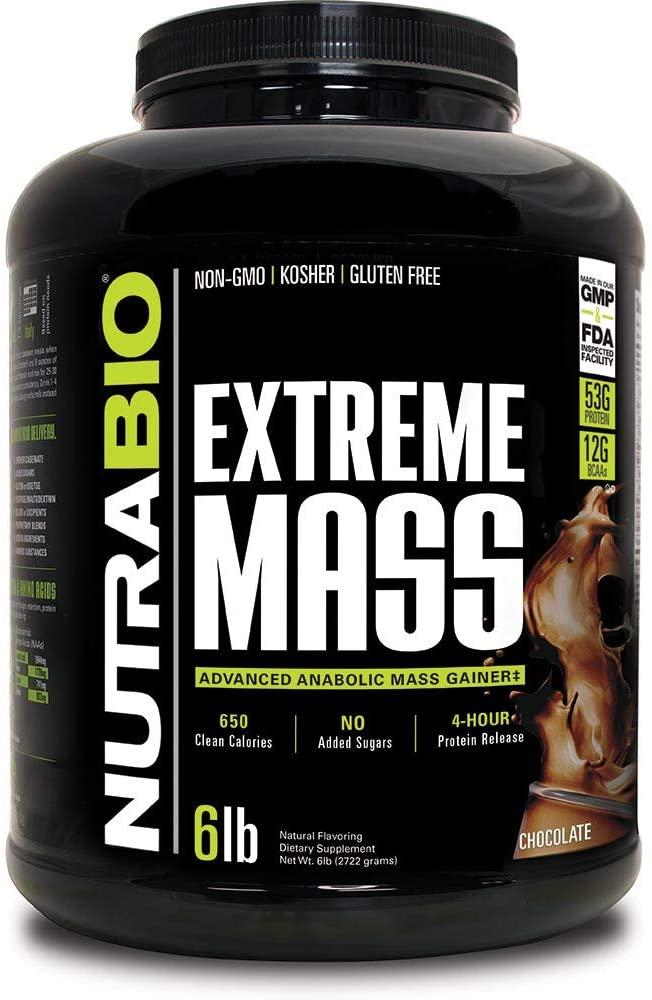 NutraBio High-Calorie Extreme Mass gain