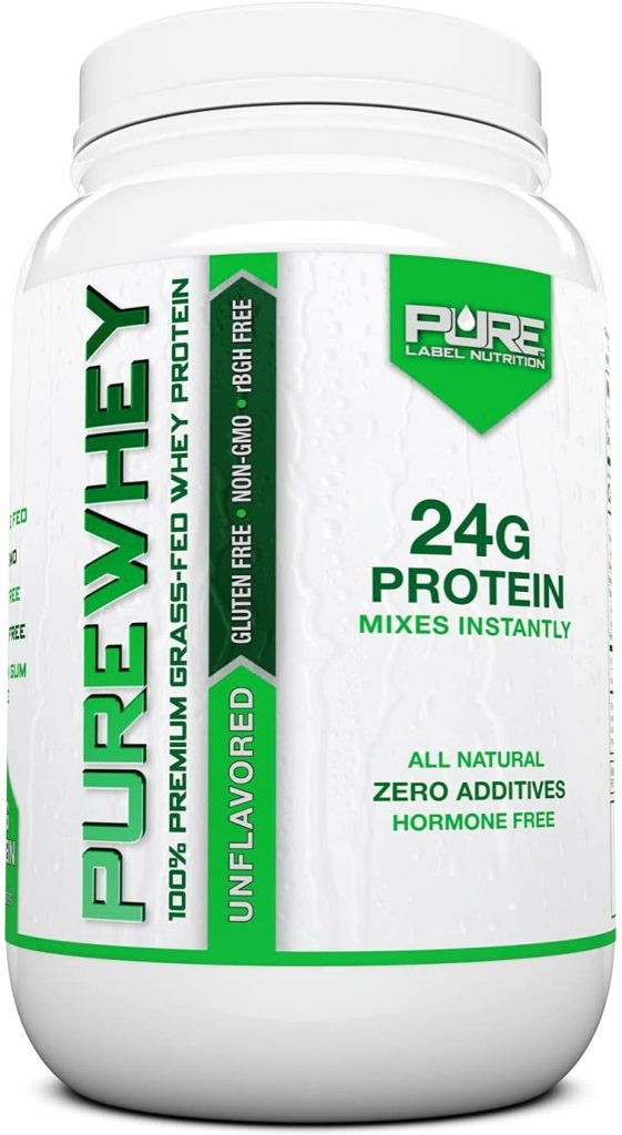 Pure Label Whey Protein Nutrition