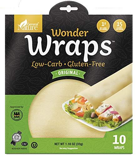 Wonder Wraps Low-calorie Weight Loss Tortillas