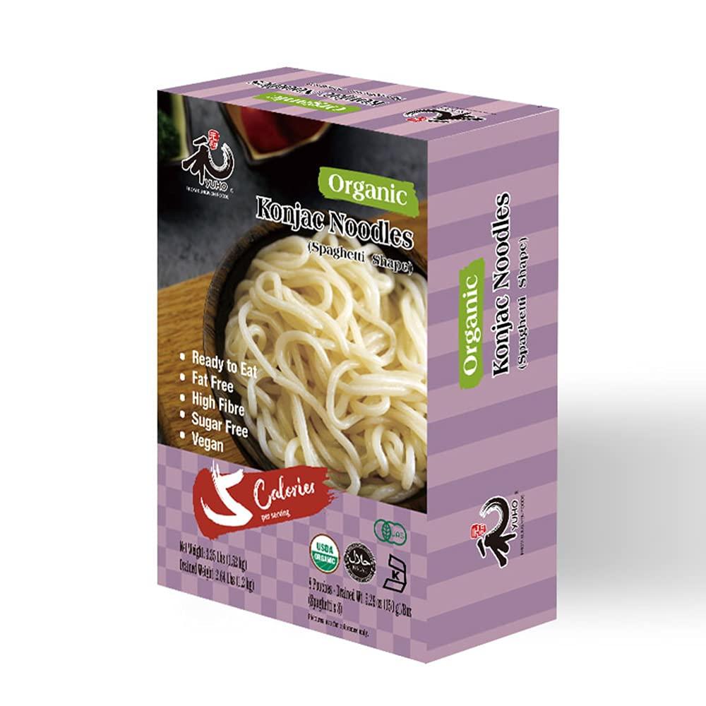YUHO Organic Zero Carbs Konjac Shirataki Pasta
