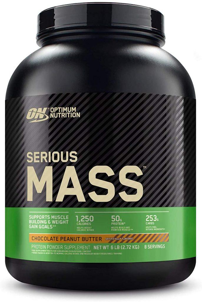 Optimum Nutrition Weight Gainer Mass Protein Powder