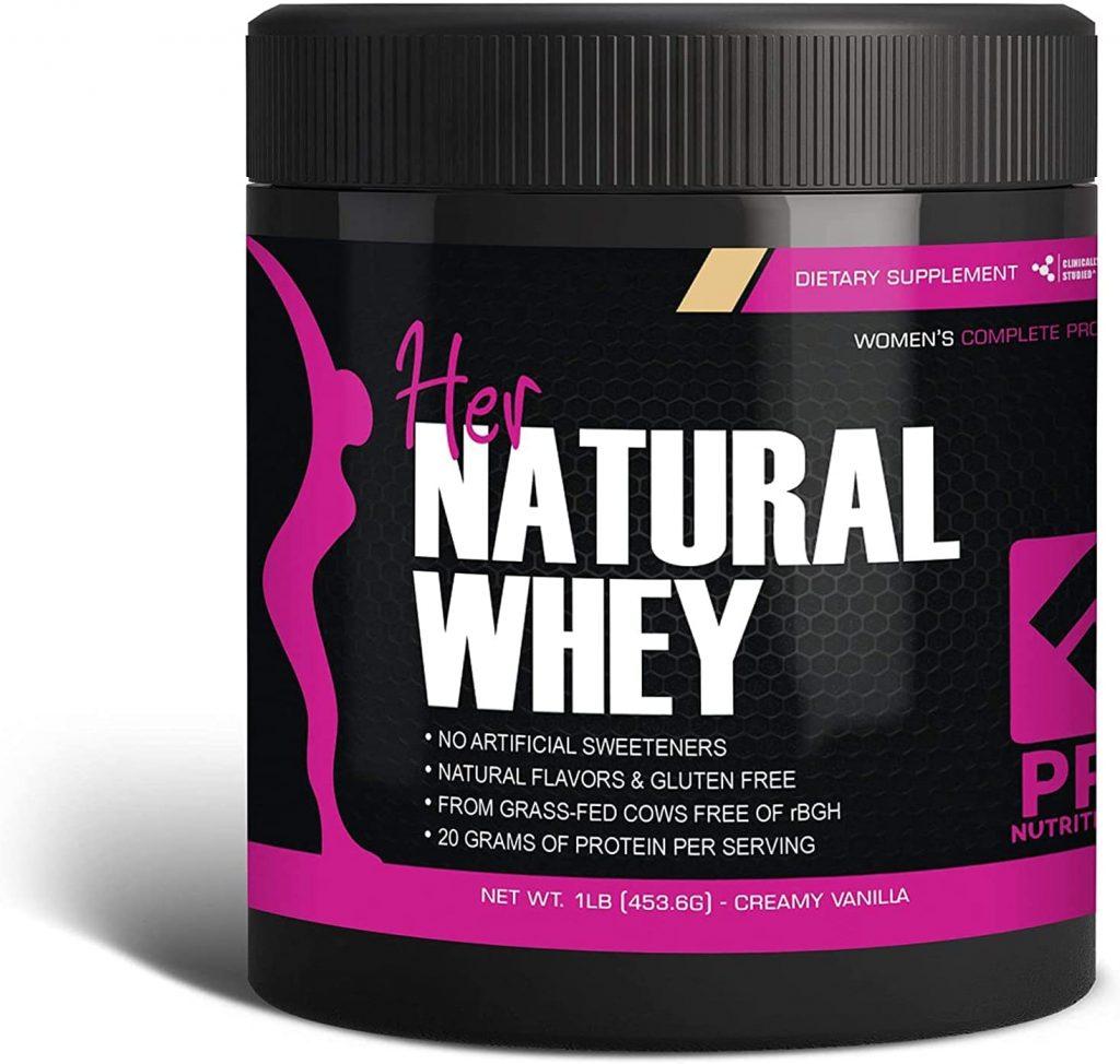 women's Her Whey Protein Natural Powder