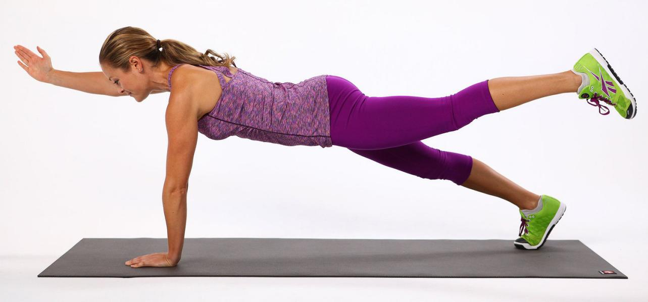 One-Leg or One-Arm Plank